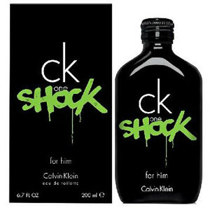 Ck One Shock For Him De Calvin Klein Colonia Perfume 200 Ml