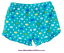 Gymboree NWT Aqua Blue SEA SPLASH FISH BUBBLES DOTS SHORT BOTTOMS 3 6 9 12 M
