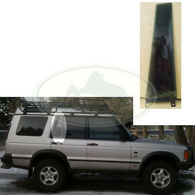4 LANDROVER DISCOVERY 3 OR 4 RIGHT REAR PASSENGER DOOR GLASS WINDOW DARK TINT
