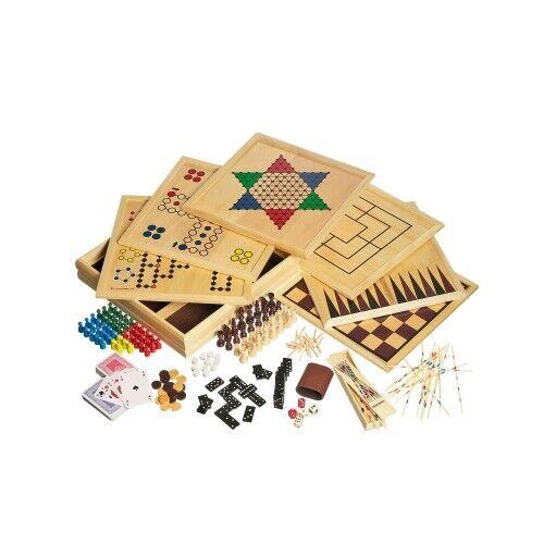 Holz-Spielesammlung 100