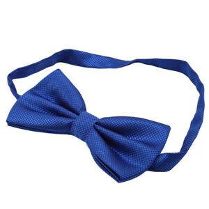 Bow Tie Solid Color Men's Adjustable Pre Tied Formal Bow Tie Tuxedo Bow Ties 6A