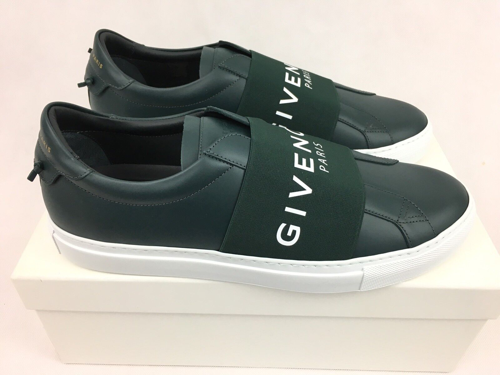Givenchy Paris Urban Knots Street Sneakers Trainers - Oil bluee UK9 EU43  New