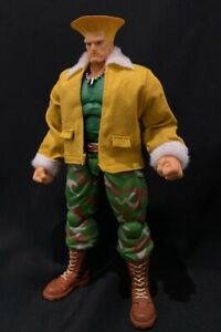 Pb Gjk Custom Yellow Jacket For Storm Street Fighter Guile No