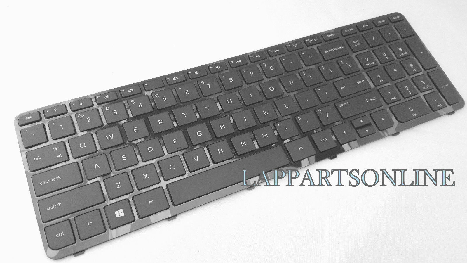 For HP Pavilion 15-e 15-n 15-g 15-r Series Laptop Keyboard w// Frame US Black