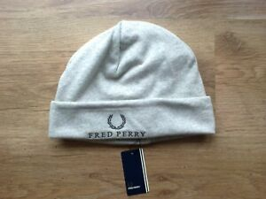f0265822267 Image is loading FRED-PERRY-JERSEY-BEANIE-HAT