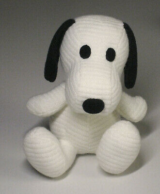 """SNOOPY TOWN Shop Exclusive item PEANUTS Snoopy /""""TEDDY SNOOPY/"""" Plush"""