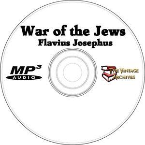 The-War-of-the-Jews-Unabridged-Audiobook-MP3-CD-Flavious-Josephus