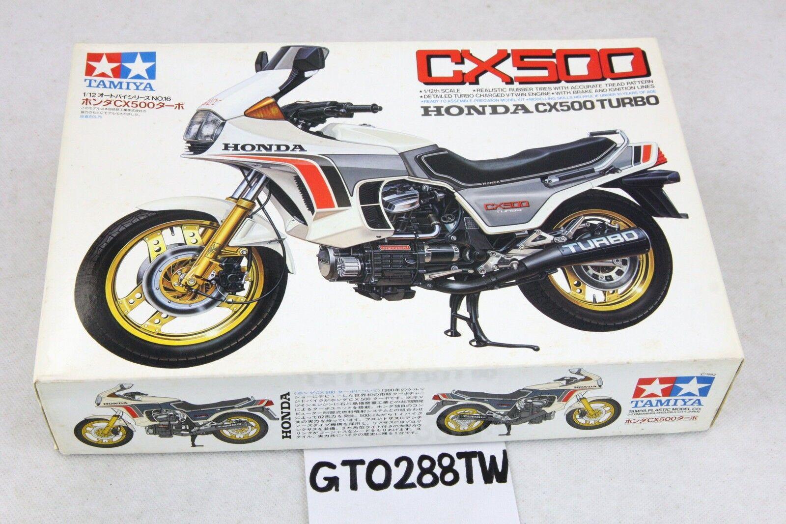 TAMIYA 1 12 scale bike kit- Honda CX500 Turbo 1982