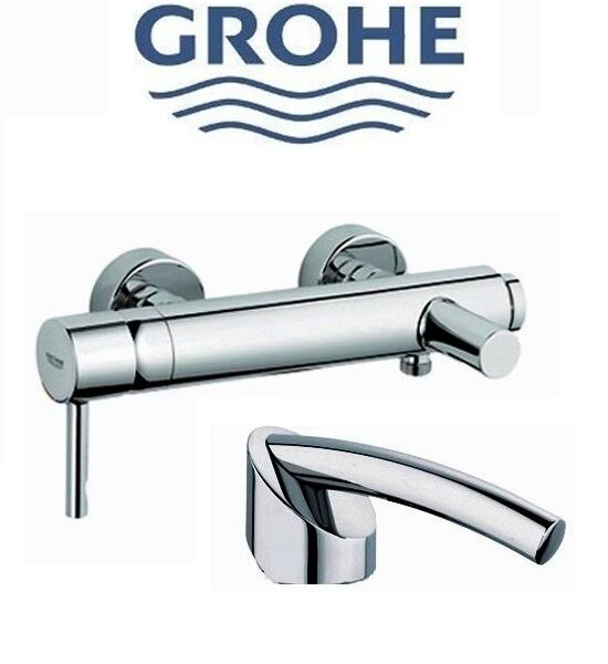 Buy Grohe Essence Single Lever Bath Mixer Chome 33624 33624000