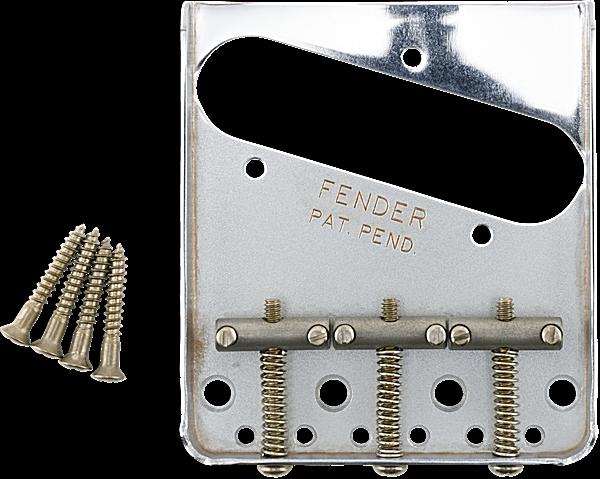 Genuine Fender Road Worn Aged Relic 3-saddle Telecaster Tele Bridge 099-7210-000