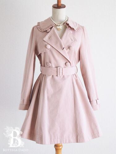 🌹Ank Rouge🌹Trench Coat Pink Romantic Lolita Femi