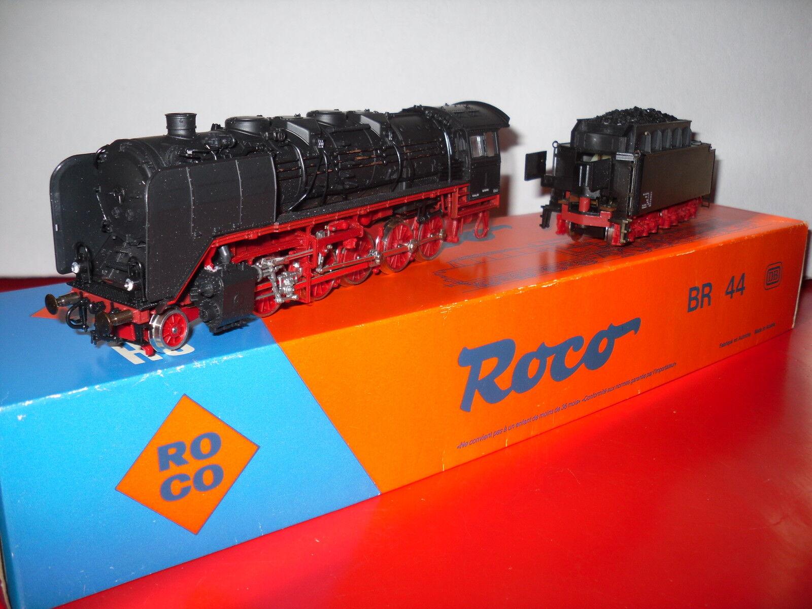 ROCO loco vapeur 150 BR 44 DB en  boite éch HO réf 04126B