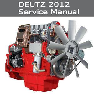 deutz 2012 service manual bf4m2012 c bf6m2012 c engine workshop rh ebay com Small Diesel Generator deutz f6l912 diesel engine service manual