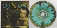 Don Dixon - Romantic Depressive CD US 11 trx Anton Fier Marti Jones Sugar Hill