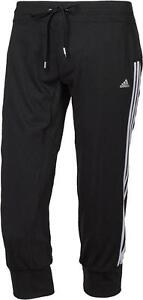 New-Womens-Ladies-Adidas-Training-Pants-Leggings-Jogging-Gym-Bottoms-Black
