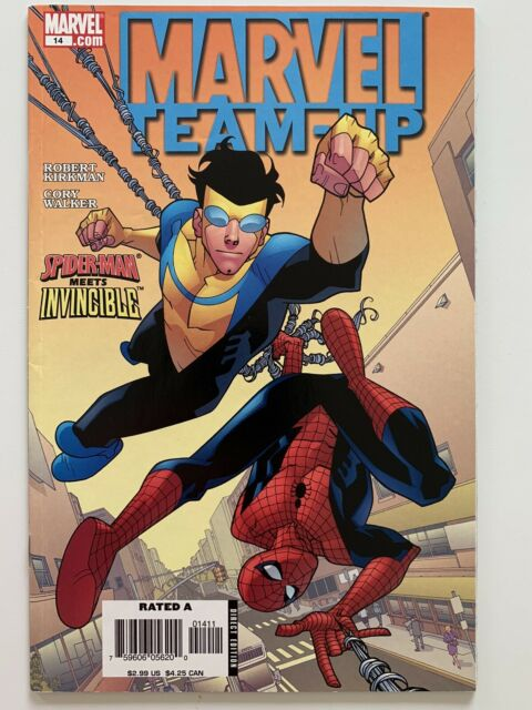 Marvel Team-Up #14 Spider-Man Meets Invincible Robert Kirkman Marvel Comic