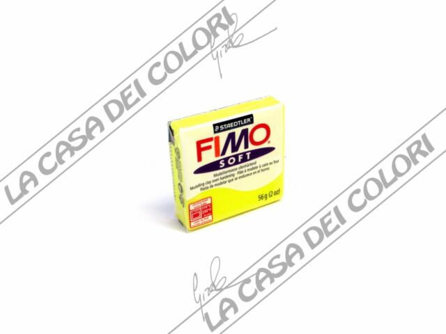 STAEDTLER - FIMO SOFT - COLORI VARI - PANETTO DA 56g