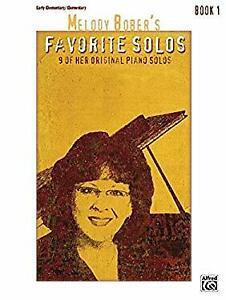 Melody-Bober-039-s-Favorite-Solos-Bk-1-9-of-Her-Original-Piano-Solos