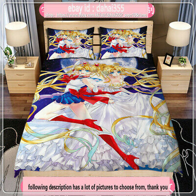 Quilt Cover Full Set Anime K-Project Double-bed Bed Sheet Bedding 3Pcs 4PCS #16