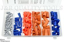 107pc Electrical Wire Twist Connector Cap With Spring Insert Assortment