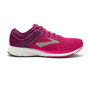 Brooks-Femme-Ravenne-9-Chaussures-De-Course-Baskets-Sneakers-ROSE-SPORT-respirant