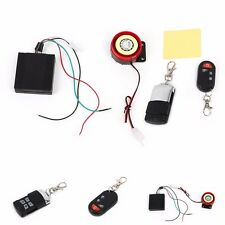Scooter Car Security Alarm System Remote Control 12V Anti-theft Motorcycle Bike