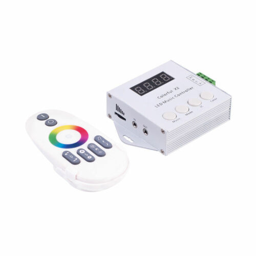 WS2812B WS2811 6803 1903 SK6812 RGB Colorful Music remote Controller LED Strip