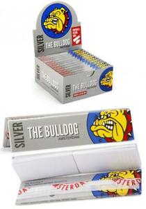 The-Bulldog-Amsterdam-Silver-Rolling-Papers-amp-Filter-Tips-24-pcs-Per-Box