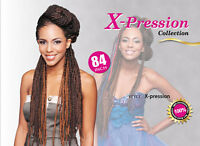 Bijoux X-pression 4 Pack 100% Kanekalon Synthetic Hair Braid