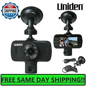 Uniden-Dash-Cam-1080P-HD-Dual-Camera-Front-And-Rear-View-Cars-Mount-Video-Record