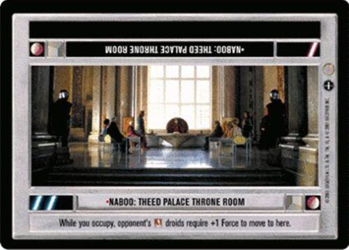 Star Wars CCG Coruscant Naboo: Theed Palace Throne Room (LS Light Side)