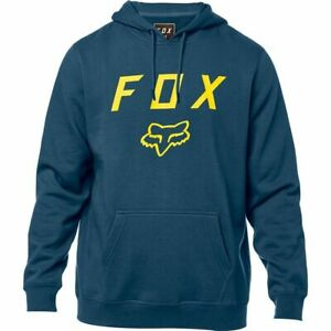 NWT-New-FOX-RACING-Legacy-Moth-PO-Fleece-Hoodie-L-Large-Mens-Navy-A22