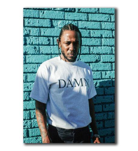 T-127 Art Poster Kendrick Lamar Damn Rap Music Hot Silk 24x36 27x40IN