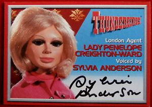 Thunderbirds-SYLVIA-ANDERSON-Lady-Penelope-Autograph-Card-Cards-Inc-2001