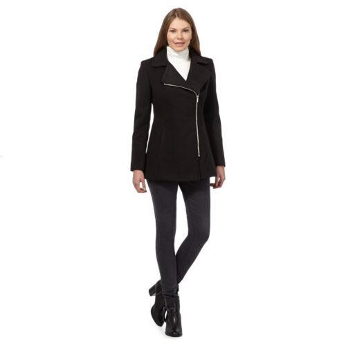 Ee Collection 8 The Størrelse 2200879884710 Debenhams Petite 11 Lf075 Black Asymmetrisk Jacket Biker pv5q5gS