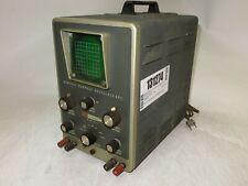 Heathkit Model 10 21 General Purpose Oscilloscope Power Tested As Is