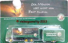 Minitruck Biertruck Brauereitruck - Alpirsbacher Klosterbräu