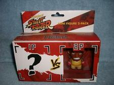 Street Fighter Balrog Yellow Mini Figure 2-Pack Kidrobot Capcom 2013 New Sealed