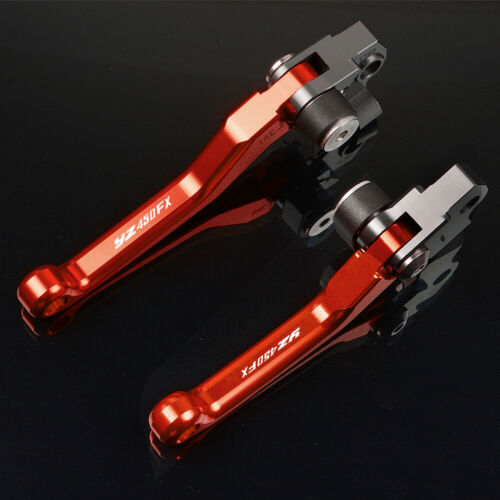 With logo Motorcycle Brake Clutch Lever Pivot Lever For Yamaha YZ450FX 16-18