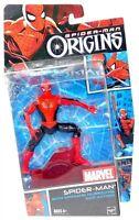 2007 Spiderman Origins Civil War Spider-man 5 Figure W Spinning Hurricane Kick