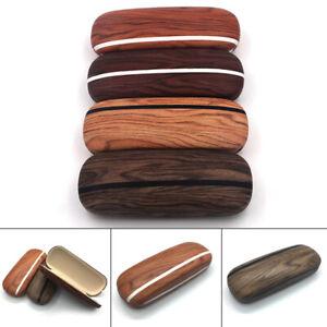 Portable-Glasses-Case-Hard-Wooden-Grain-Spectacle-Frame-Box-Reading-Glasses-Case