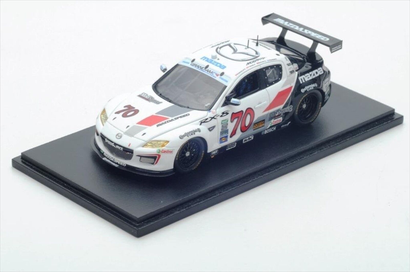 SPARK 1 43 MAZDA RX-8  70 Grand-Am GT 2012 DAYTONA 24 H Race Limited New