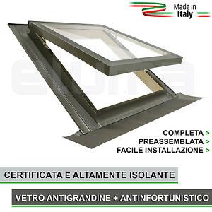 Finestra-per-tetto-Lucernario-COMFORT-VASISTAS-55x78-apertura-tipo-Velux