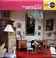 ECS 621 Chopin The Mazurkas Vol. 2 Nikita Magaloff NM/EX Decca Eclipse
