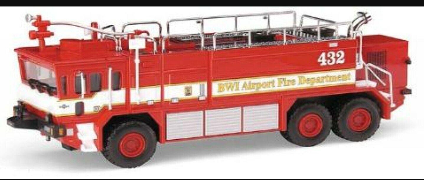 Code 3 Baltimore Washington Airport Oshkosh Crash Truck 12149 1 64 Diecast