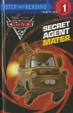 Secret Agent Mater (Disney/Pixar Cars 2) (Step into Reading)-ExLibrary