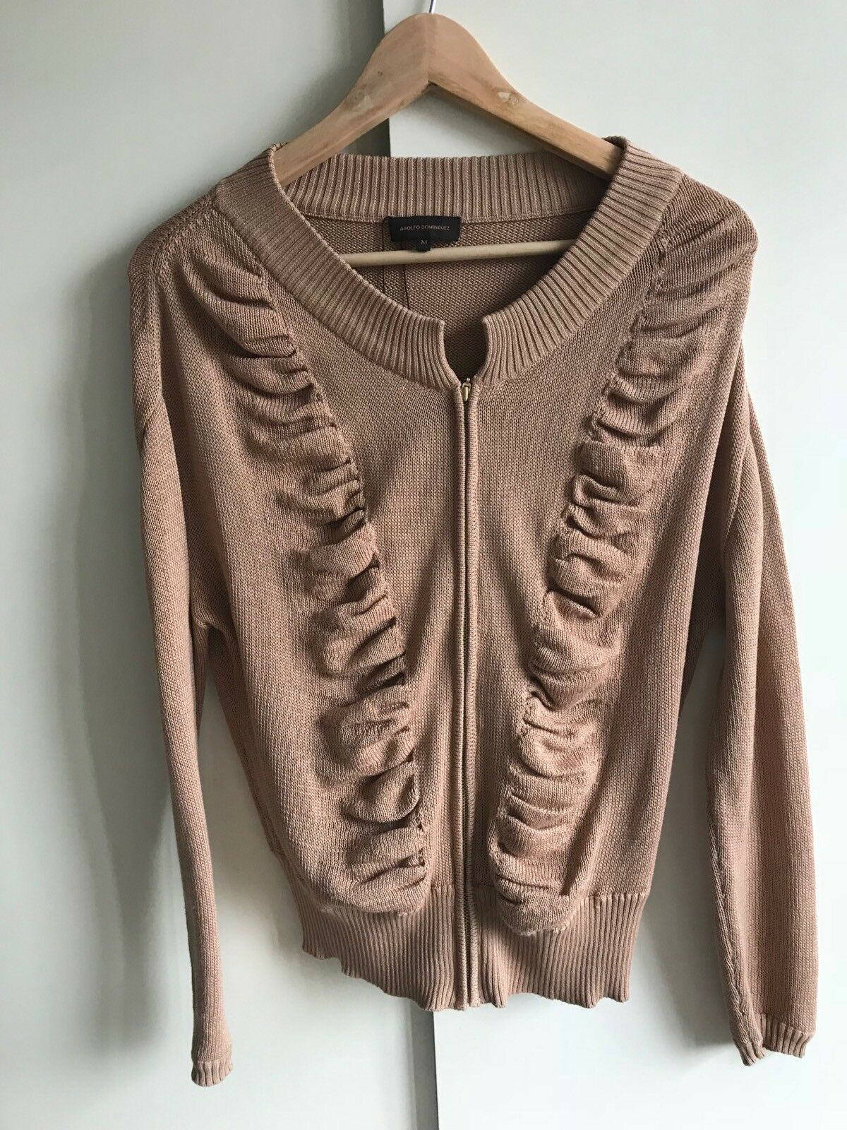 GORGEOUS ADOLFO DOMINGUEZ KNIT JUMPER Sz M WILL FIT UK Sz 10 12