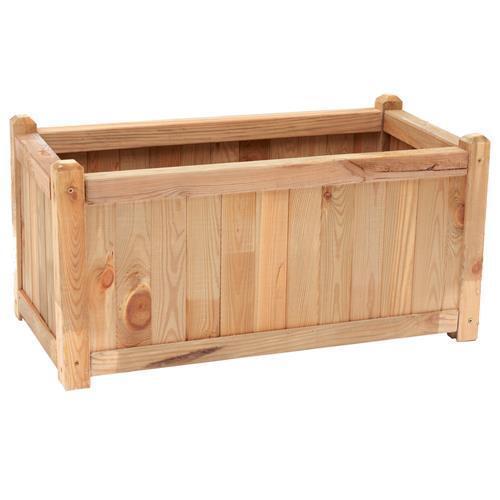 prendi l'ultimo Portavaso in legno di pino pino pino naturale cm 80x40x40h  economico e di alta qualità