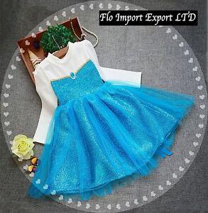 Frozen-Vestito-Manica-Lunga-Bambina-Compleanno-Feste-Girl-Party-Dress-Elsa-00069