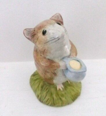 Perfect Timmy Willie Fetching Milk Bp10a Realistic Rare Beswick Beatrix Potter Figure